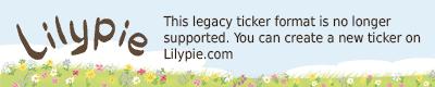 Lilypie Date is set Ticker